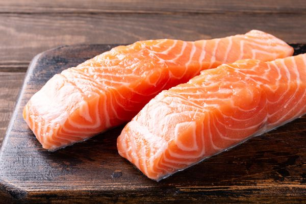 Testaroli lunigianesi con salmone